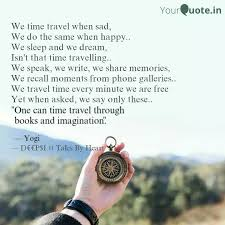 we time travel when sad quotes writings by tales by heart