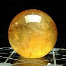40mm natural citrine quartz crystal
