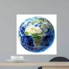 3d Rendering Planet Earth Wall Decal Design 13 Wallmonkeys Com