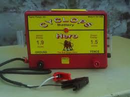 Buy The Cyclops Hero 12v Dc Battery Electric Fence Charger Energizer Cyclops Electric Fence Chargers