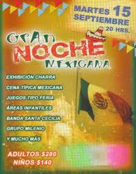 lienzo charro de aragon Ven a dar el grito 2009 NOCHE MEXICANA ...