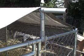 Diy Dog Kennel Roof Ideas