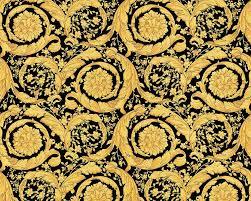 versace gold black baroque fl