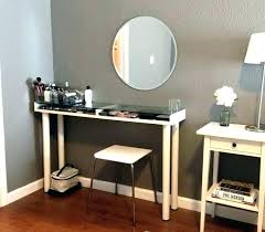 small makeup desk black dresser for