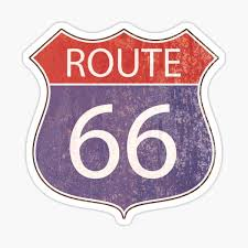 Route 66 Stickers Redbubble