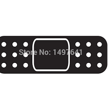Top 9 Most Popular Band Aid Sticker For Car List And Get Free Shipping Af4a2119
