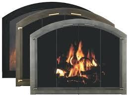 arched fireplace screen door doors top