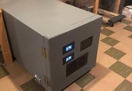 sound isolated server rack hackaday