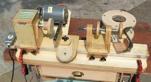 homemade wood turning lathe wood