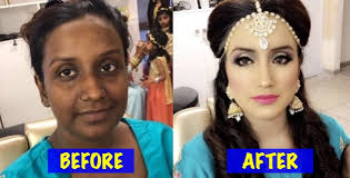 after wedding makeup transformations