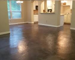 pros and cons of acid sned concrete