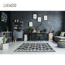 Laeacco غرفة المعيشة رف خشبي للكتب أريكة بطانية الطفل الطفل