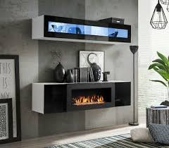 idea n2 tv cabinet with fireplace
