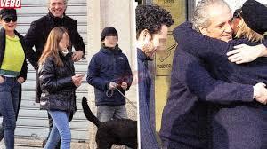 Simona Ventura e Giovanni Terzi, pranzo in famiglia... allargata ...
