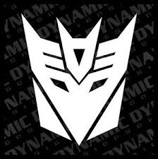 Large Transformers Decepticon Logo Symbol Vinyl Window Decal Sticker Ebay