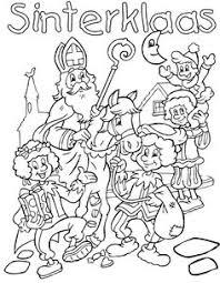 126 Beste Afbeeldingen Van Sinterklaas Kleurplaten Sinterklaas