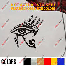 Clothing Shoes Accessories Adult Belly Dancing Dancewear Egyptian Eye Of Horus Vinyl Car Sticker Sraparish Org