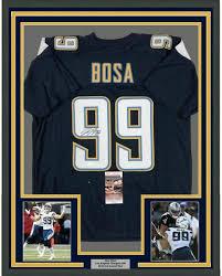 Autographed Joey Bosa Jersey - FRAMED ...