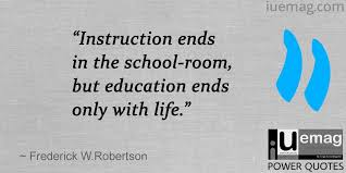 must quotes about the gift of education