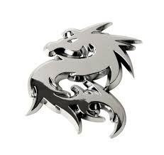 Emblems Car Styling Body Fittings Sumex Log1825 Emblem Goat Emblems Automotive Chrome Komahibachi Com
