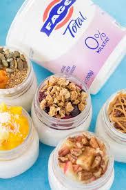 5 healthy yogurt parfaits the clean