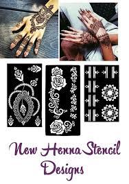 New Henna Stencil Mehndi Template Vinyl Sticker Mixed Designs Body Art Pattern Henna Stencils Tattoo Stencils Henna