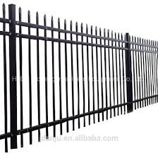 China Construction Real Estate Customized Zinc Steel Fence Panels Cheap Wrought Iron Fence Panels For Sale China Fence Steel Fence