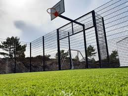 Outdoor Basketball Court Fencing Why Install A Welded Mesh Fence