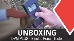 dvm plus electric fence tester