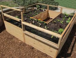 Raised Cedar Garden Bed 8 X 8 Ft In 2020 Cedar Garden