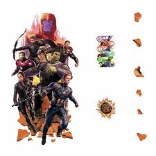 Avengers Endgame Peel And Stick Giant Wall Decals