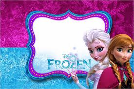 Frozen Azul Y Purpura Invitaciones Para Impimir Gratis En 2020