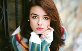 brunette brown e makeup lip