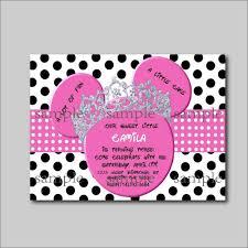 14 Unids Lote Rosa Minnie Mouse Cumpleanos Invitaciones Minnie