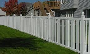Wood Fences Vinyl Fencing Mn