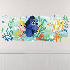 Giant Finding Dory Wall Decal 39in X 16in Party City