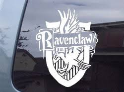 Harry Potter Ravenclaw Crest Car Window And Similar Items
