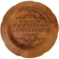 personalized 20th wedding anniversary