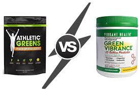 athletic greens vs green vibrance