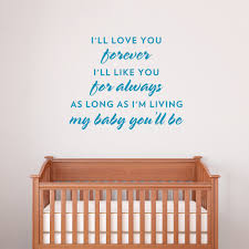 My Baby You Ll Be Wall Decal