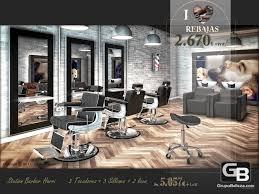 barber hair salon furniture set harry