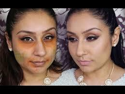 dark circles blemishes with orange
