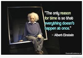 albert einstein time travel quotes master trick