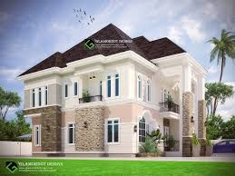 design of a proposed 6 bedroom duplex