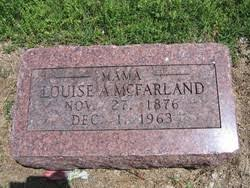 Louise Adeline West McFarland (1876-1963) - Find A Grave Memorial