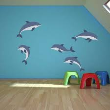 Style And Apply Cartoon Dolphins Set Wall Decal Wayfair