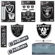 Nfl Oakland Raiders Premium Vinyl Decal Sticker Emblem Pick Your Pack Ebay