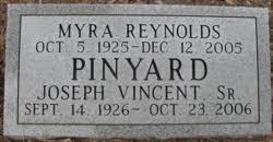 Myra Reynolds Pinyard (1925-2005) - Find A Grave Memorial
