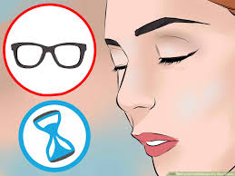 how to do eye makeup when you wear gles