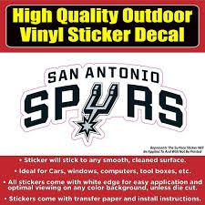 San Antonio Spurs Basketball Vinyl Car Window Laptop Bumper Sticker De Colorado Sticker
